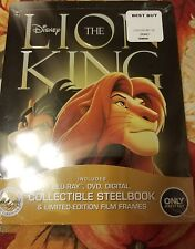 The Lion King (Blu-ray/DVD, 2017, 2-Disc Set, best buy exclusive steelbook