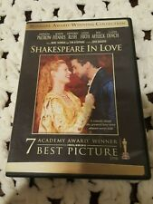 Shakespeare In Love Dvd -Widesrn -Regn 1 -Digitally Mastered-Paltrow-*Read Below