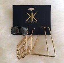 Kardashian Kollection Accessories Earrings Set