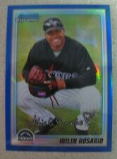 WILIN ROSARIO 2011 BOWMAN CHROME PROSPECTS BLUE REFRACTOR #94/150