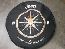 Brand new Jeep Spare tire cover compass logo denim mopar accessory 82210883AB