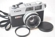 [EXC+++] Canon Canonet QL17 G-Ⅲ Rangefinder Camera [FULLY WORKS] /40mm F1.7 Lens