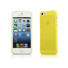 YemotaPro Ultra Slim iPhone 5 5S Hard Case Schutz Hülle Cover Bumper Tasche Gelb