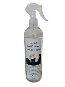 Equine Conditioning Detangling Spray. Mane & Tail Detangler for Horses 500ml.