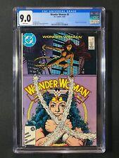 Wonder Woman #9 CGC 9.0 (1987) - Origin of the new Cheetah