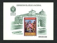 ESPAÑA 1989 - PRUEBA DE LUJO Nº 19 - EXFILNA´89 - MNH - SPANIEN / SPAIN