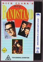 BEST OF BANDSTAND Dick Clark's VINTAGE VHS Video tape 1986
