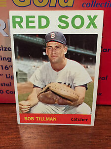 1964 Topps # 112 Bob Tillman ....** NM **.. RED SOX **...RB-4821