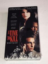 A Time To Kill (VHS,1996 R) Matthew McConaughey, Samuel Jackson 44T