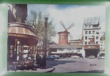 CPA France Paris Moulin Rouge Windmill Moulin Windmühle Molin Mill Wiatrak w185