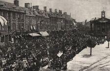 Queen Victoria's Jubilee Festival at Chipping Norton. Oxfordshire, print, 1887