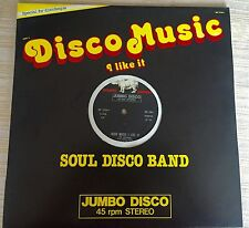 Soul Machine Jumbo italo Disco Music Band Salsoul Invention Like Stereo LP NEW