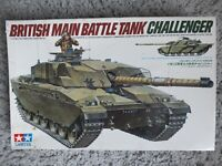 Tamiya 35134 British Main Battle Tank Challanger Model Kit 1/35 - Kit started