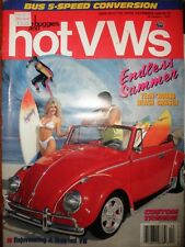 Dune Buggies & Hot VWs 1991 58 Kombi 60 Beetle Bug 65 Cabriolet