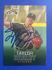 2018 Greensboro Grasshoppers Taylor Braley Auto Signed Autograph Marlins