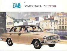 VAUXHALL VICTOR Saloon, SUPER, DE LUXE & Station Wagon OPUSCOLO NOV.1963 per 1964