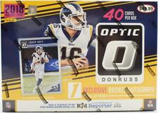 2018 Panini Donruss Optic Football 40ct Collectors Box