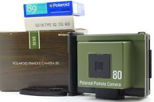 【N Mint++】Polaroid Pinhole Pin Hole Camera 80 Olive w/Box & More From Japan #427