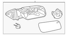 Genuine Ford Mirror DA8Z-17683-CA