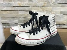 Converse Ladies Mens Size 7 Studded High Top Trainers Shoes