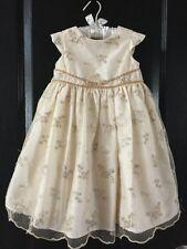 Marmellata Toddler Girls Ivory Fancy Dress 2T
