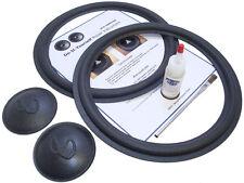 "Complete Infinity 12"" SM-125 Speaker Foam Repair Kit w/ Logo Caps - 2INF12-comp"