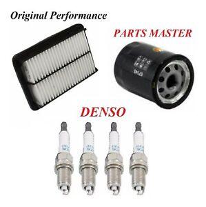 Tune Up Kit Air Oil Filters Spark Plugs For SUZUKI AERIO L4 2.3L 2004-2007