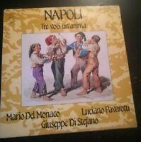 NAPOLI - TRE VOCI UN'ANIMA *1985 - DISCO VINILE 33 GIRI* N.194