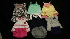Baby Girl Size 12 months Spring & Summer Clothing Lot