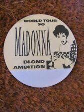 MADONNA BLOND AMBITION TOUR BACKSTAGE SATIN PASS