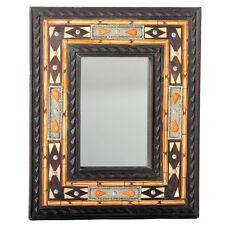 orientalischer Spiegel Orientspiegel Holzspiegel Orient Marokko Dera 48cm