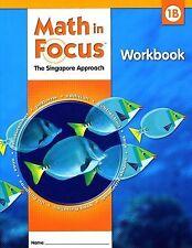 Grade 1 Math in Focus Student Workbook 1B Singapore Approach 2009 Non Common Cor