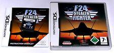 """Nintendo DS JEU """"f24 stealth Fighter"""" complet"""