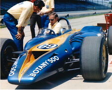 Bruce McLaren Carroll Shelby Turbine 1968 Indy 500 8 X 10 Photo Botany 500 6