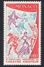 Monaco 1973 Theatre/Actors/Harlequin/Clown/Dancer/Dancing/Acting/Music 1v n39508