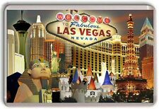 Las Vegas Fridge Magnet 01