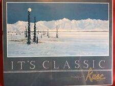 "JON VAN ZYLE SIGNED IT'S CLASSIC - KUAC 1983 - 16.25""x20.25"" FREE SHIPPING"