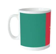 Cameroon Flag Mug