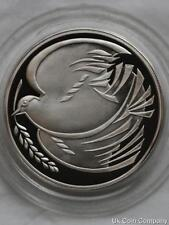 1995 Silver Proof £2 Two Pound Coin Dove Of Peace