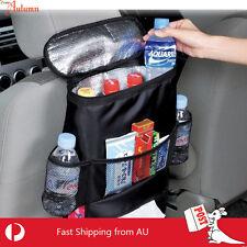 Car Seat Back Ice Bag Multi Pocket Storage Tissue Mesh Auto Heat Pack Cooler HOT