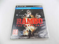 Mint Disc Playstation 3 Ps3 Rambo The Video Game Free Postage