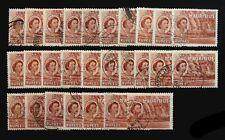 MAURITIUS 1954 - 5R SG305 Cat £10 SG27a Fine/Used £10 Each SEE BELOW NJ526