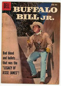 JERRY WEIST ESTATE: FOUR COLOR #856 & BUFFALO BILL JR. #10 (VG+) (Dell 1957-59)