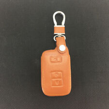 Fit Toyota Camry Avalon 3 Buttons PU Leather Smart Remote Key Fob Bag Cover Case