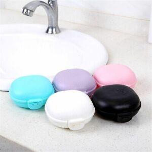 Travel Container Soap Storage Box Dish Plate Case Bathroom Soap Case Soap Box