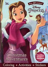 Princesses Christmas coloring book RARE UNUSED