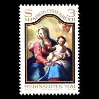 Austria 1978 - Christmas - Sc 1096 MNH
