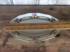 Rare Mepoco Ware Made In Czechoslovakia  Serving Platter   , Ornate Pattern