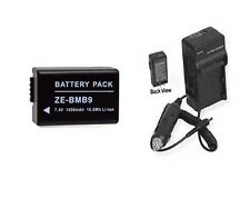 Battery + Charger for Panasonic  DMC-FZ100 DMC-FZ100K