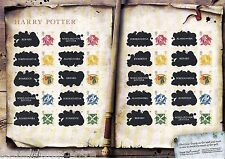 GS-043 - Harry Potter Generic Smilers Stamp Sheet